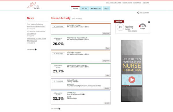 Student Portal 101 – ATI Nursing Blog